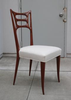 Set of Six Italian Modernist Dining Chairs - 1591925