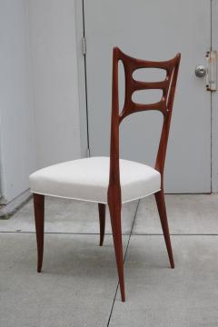 Set of Six Italian Modernist Dining Chairs - 1591926