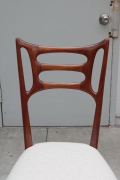 Set of Six Italian Modernist Dining Chairs - 1591927
