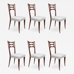 Set of Six Italian Modernist Dining Chairs - 1594593