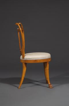 Set of Six Lyre Back Chairs - 1932238
