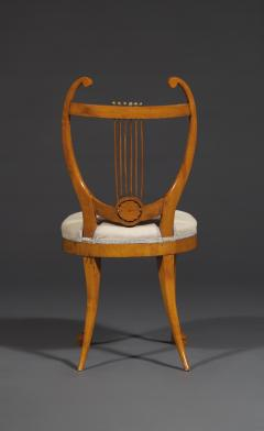 Set of Six Lyre Back Chairs - 1932239