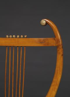 Set of Six Lyre Back Chairs - 1932240