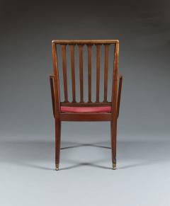 Set of Six Mahogany Armchairs - 534337