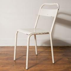 Set of Six Metal Chairs from the City of Montpellier France c 1960 - 1072303