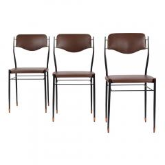 Set of Six Mid Century Modern Dining Chairs - 1313419