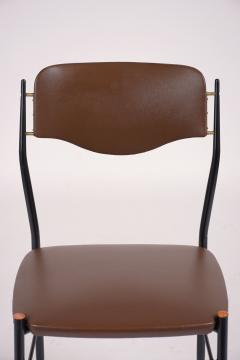 Set of Six Mid Century Modern Dining Chairs - 1313420