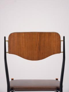 Set of Six Mid Century Modern Dining Chairs - 1313426