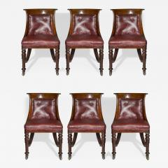 Set of Six Regency Tub Chairs - 1084666