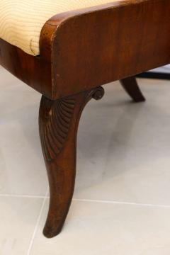 Set of Six Russian Neoclassic Mahogany Dining or Side Chairs - 350157