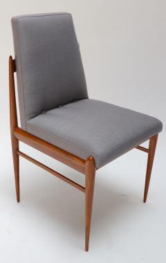 Set of Ten 1960s Brazilian Caviuna Dining Chairs by LAtelier - 1172510