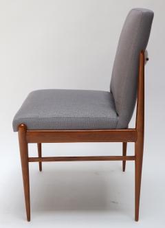 Set of Ten 1960s Brazilian Caviuna Dining Chairs by LAtelier - 1172513