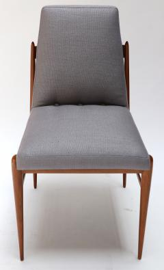 Set of Ten 1960s Brazilian Caviuna Dining Chairs by LAtelier - 1172514
