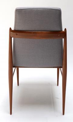 Set of Ten 1960s Brazilian Caviuna Dining Chairs by LAtelier - 1172515