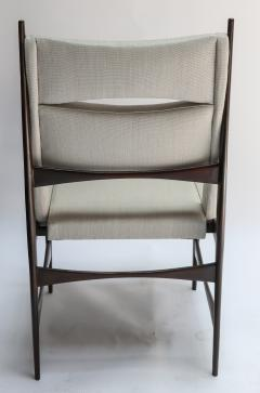Set of Ten 1960s Brazilian Dining Chairs in Beige Linen - 983093