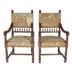 Set of Ten Henry II Style Needlepoint Chairs - 163172