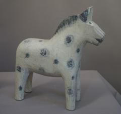 Set of Three Carved Dala Horses - 694098