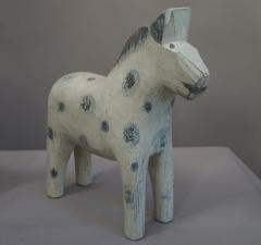 Set of Three Carved Dala Horses - 694100