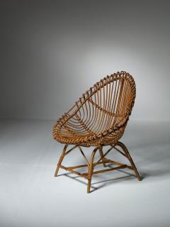Set of Three Wicker Easy Chairs - 1319667