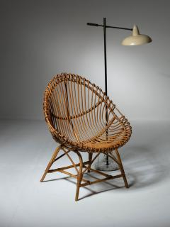 Set of Three Wicker Easy Chairs - 1319672