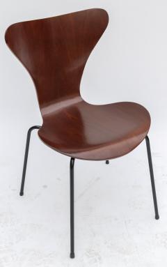Set of Twelve 1960s Formiga Brazilian Jacaranda and Metal Dining Chairs - 497398