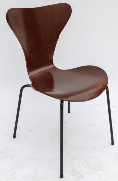 Set of Twelve 1960s Formiga Brazilian Jacaranda and Metal Dining Chairs - 497412