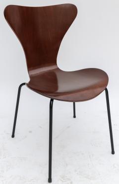Set of Twelve 1960s Formiga Brazilian Jacaranda and Metal Dining Chairs - 497413