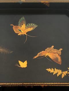 Set of Two Antique Japanese Lacquer Trays Edo Period - 1125991