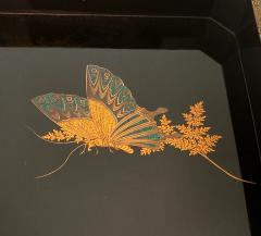 Set of Two Antique Japanese Lacquer Trays Edo Period - 1125994
