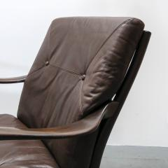 Set of Two Danish Leather Side Chairs - 643966