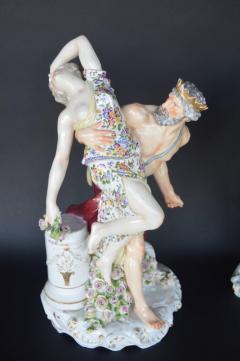 Set of Two Meissen Sculptures - 450511
