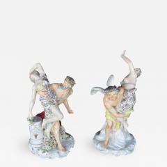 Set of Two Meissen Sculptures - 456045