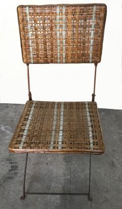 Set of eleven folding winter garden chairs circa 1900 - 1201393