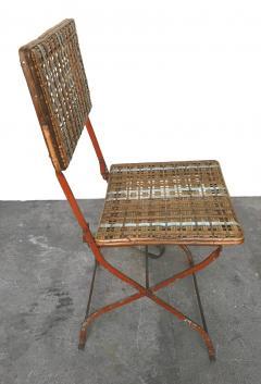Set of eleven folding winter garden chairs circa 1900 - 1201394