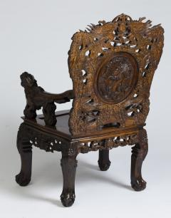 Set of four Indochinese armchairs circa 1930 - 917295