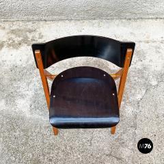 Set of oak chairs 1960s - 2135242
