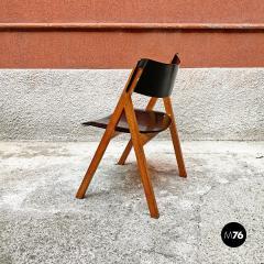 Set of oak chairs 1960s - 2135244