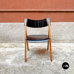 Set of oak chairs 1960s - 2135246