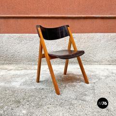 Set of oak chairs 1960s - 2135259
