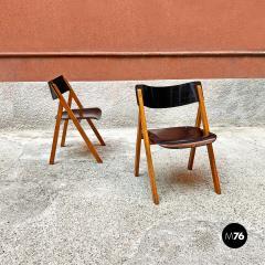 Set of oak chairs 1960s - 2135260