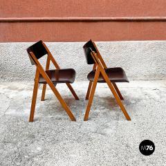 Set of oak chairs 1960s - 2135263