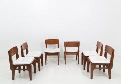 Set of six Italian chairs by Arc Vito Sangirardi for the Pallante shop Bari - 1602429