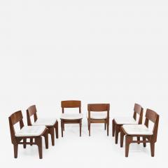 Set of six Italian chairs by Arc Vito Sangirardi for the Pallante shop Bari - 1605303