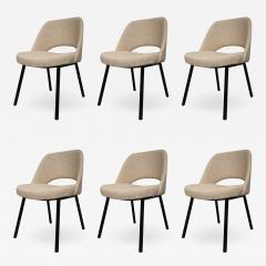 Set of six metal and indian silk dining chairs Italy 50 - 1086112