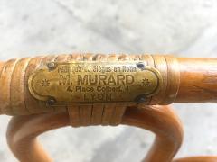Set of six rattan winter garden chairs M Murard Lyon France circa 1930 - 1041329