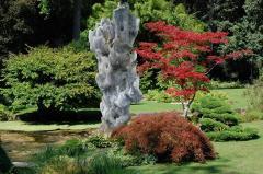 Set of ten natural stone sculptures Gogottes de Fontainebleau  - 1236554