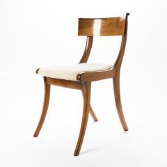 Set of three sabre leg Klismos form side chairs - 1922212