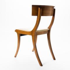 Set of three sabre leg Klismos form side chairs - 1922219