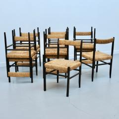 Set of twelve chairs 60s - 1489748