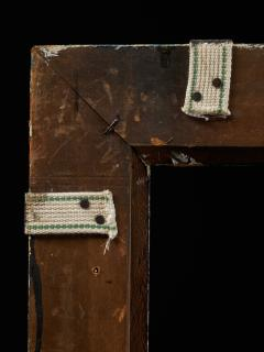Set of two decorative wooden frames and an old mirror  - 1926942